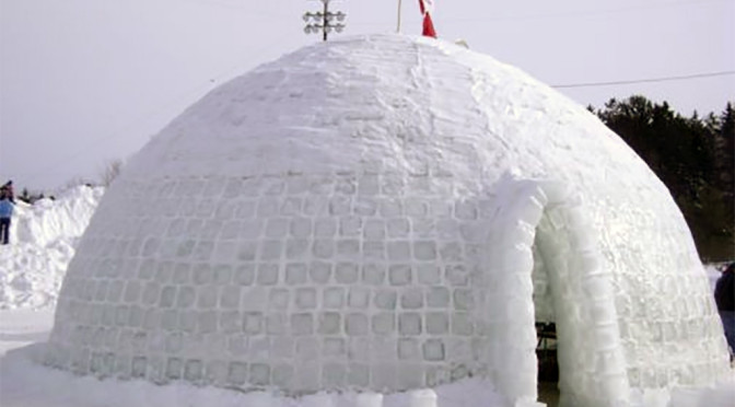 World's biggest dome igloo - 2011 Guinness World Record